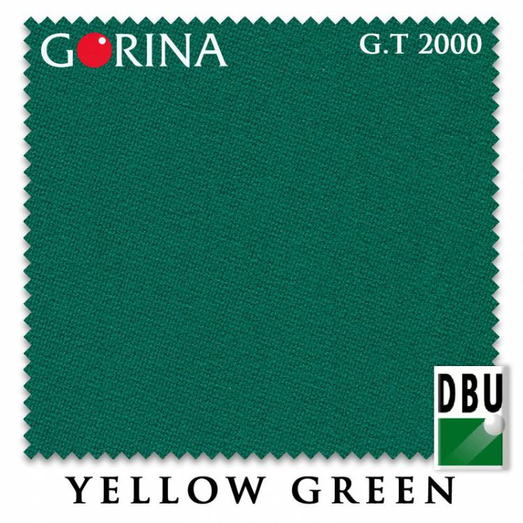 Сукно Gorina Granito Tournament 2000 197см Yellow Green