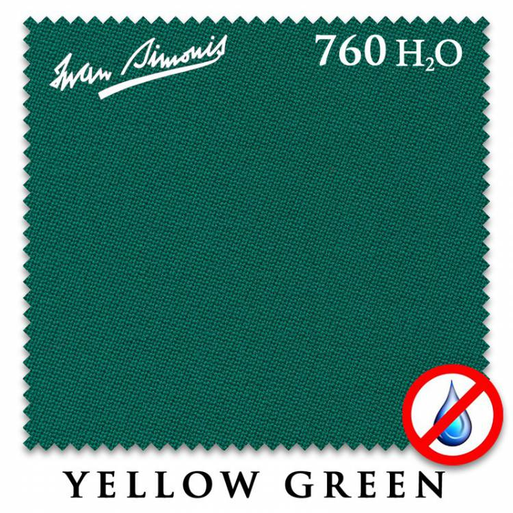 Сукно Iwan Simonis 760 H2O 195см Yellow Green