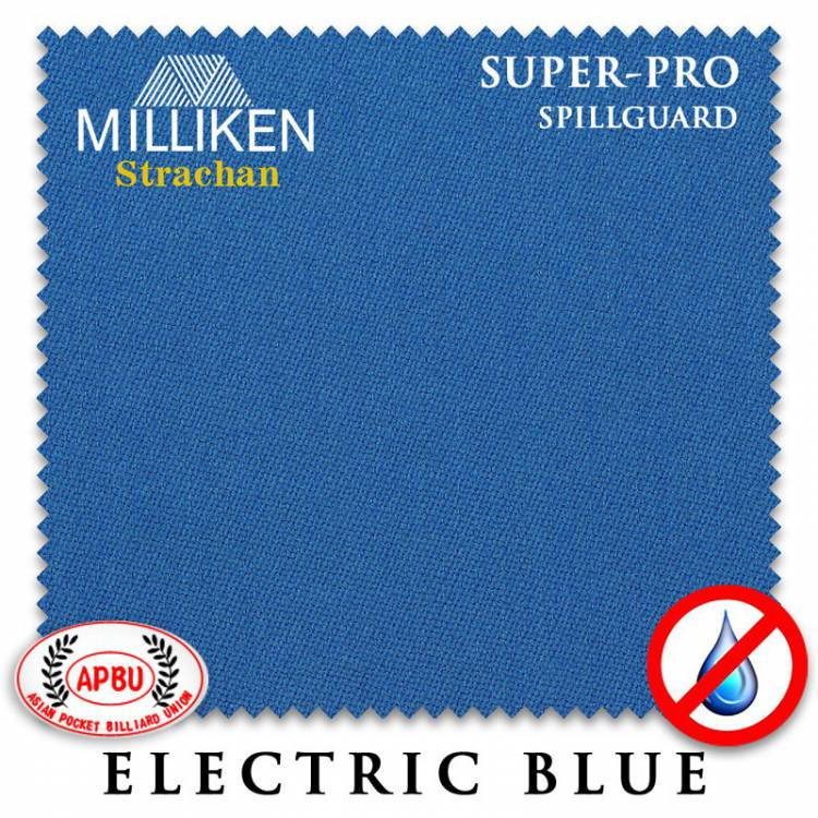 Сукно Milliken Strachan SuperPro SpillGuard 198см Electric Blue