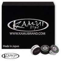 Наклейка для кия Kamui Snooker Black ø11мм Medium/Hard 1шт.